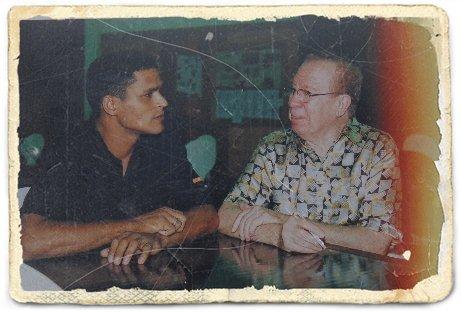 Charles da Flauta e Altamiro Carrilho (Foto: Arquivo Pessoal)