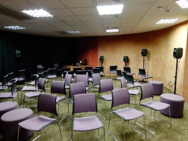 Arena Acusmática do Centro Cultural Sesc Glória, em Vitória, no Espírito Santo (Foto: Carlos Bozzo Junior)