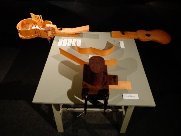 Viola em construção (Foto: Carlos Bozzo Junior)