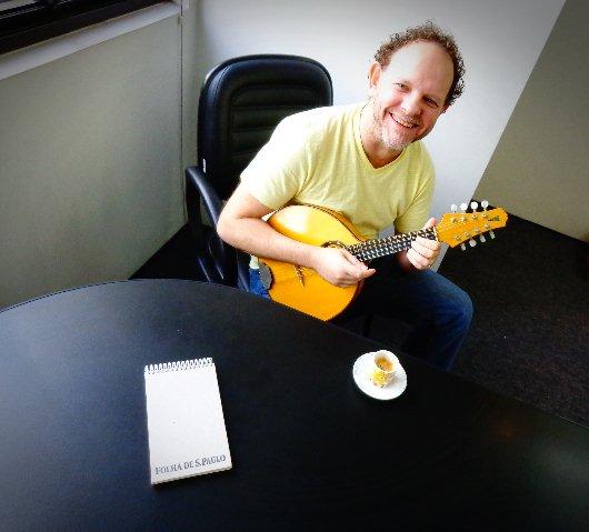 O compositor Ronen Altman, em seu escritório, em São Paulo (Foto: Carlos Bozzo Junior)