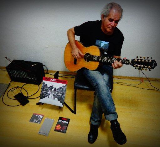 Fernando Melo toca com exclusividade para o Música em Letras (Foto: Carlos Bozzo Junior)