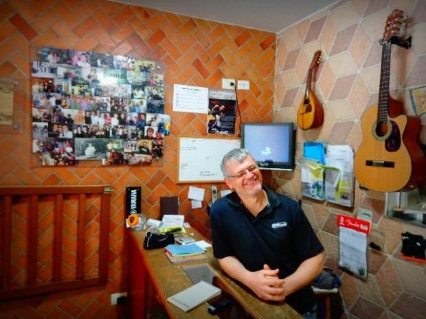 Murilo Ferreira, luthier de instrumentos de cordas (Foto: Carlos Bozzo Junior)
