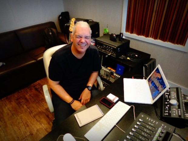 O arranjador e produtor Marcelo Mariano (Foto: Carlos Bozzo Junior)