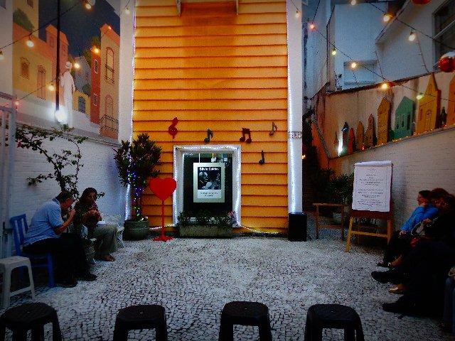 A Casa dos Trovadores Urbanos, que realiza apresentações gratuitas (Foto: Carlos Bozzo Junior)