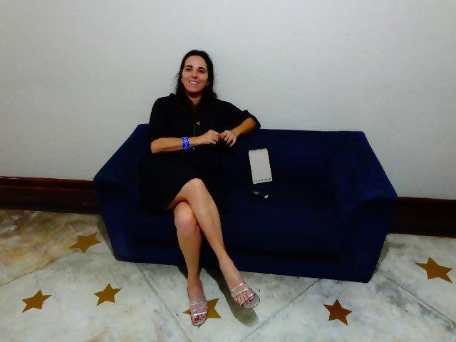 A cantora Maída Novaes em entrevista ao Música em Letras (Foto: Carlos Bozzo Junior)