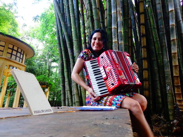 A atriz Cris Miguel em entrevista ao Música em Letras (Carlos Bozzo Junior)