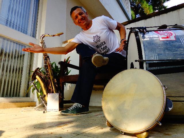 O multi-instrumentista pernambucano Zé Pitoco (Foto: Carlos Bozzo Junior)