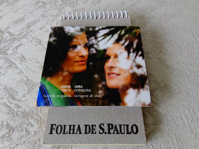 """Capa do disco """"Miragem de Inaê"""", de Anna Paes e Iara Ferreira (Foto: Carlos Bozzo Junior)"""