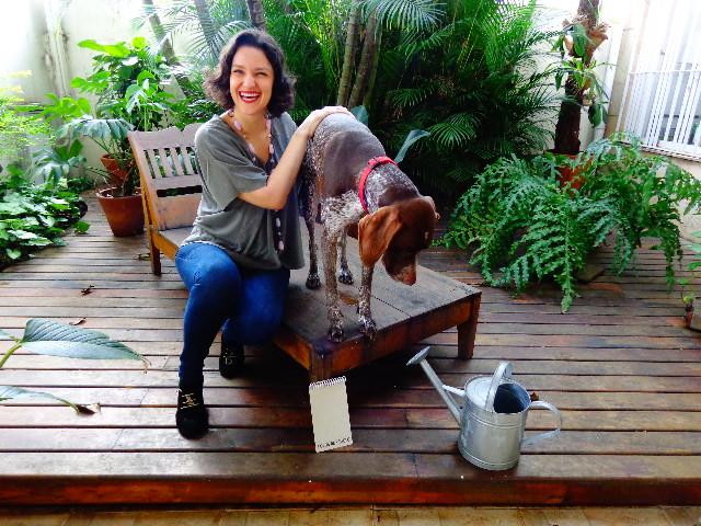 Rita Gulo e Margot pousando para o Música em Letras (Foto: Carlos Bozzo Junior)
