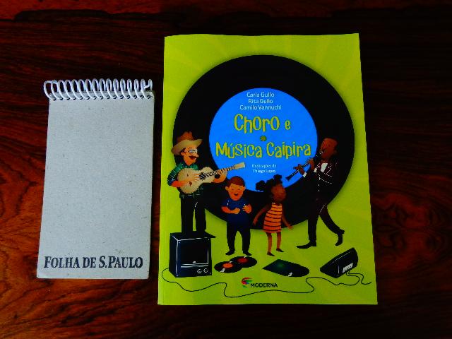 Capa de um dos livros de Rita Gullo (Foto: Carlos Bozzo Junior)