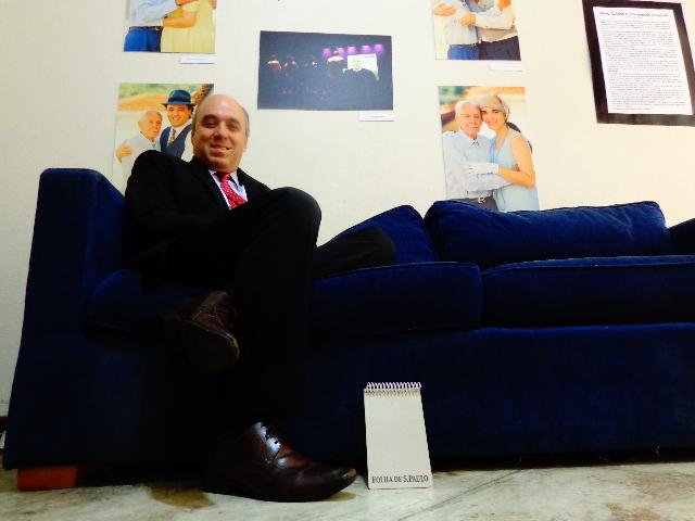 O advogado e integrante fundador dos Trovadores Urbanos, Juca Novaes (Foto: Carlos Bozzo Junior)