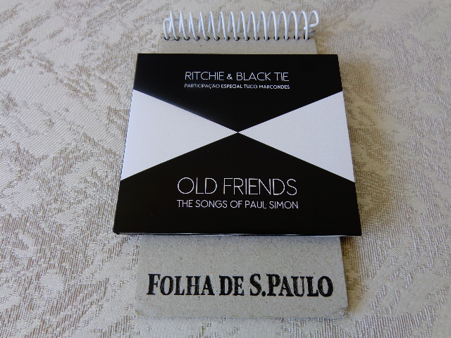 "Capa do CD ""Ritchie & Black Tie – Old Friends – the Songs of Paul Simon"" (Foto: Carlos Bozzo Junior)"