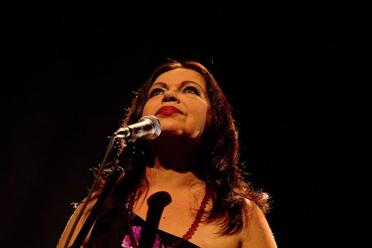 A cantora e compositora Amelinha (Foto: divulgação)