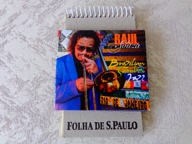 "Capa do disco ""Brazilian Samba Jazz"", de Raul de Souza (Foto: Carlos Bozzo Junior)"