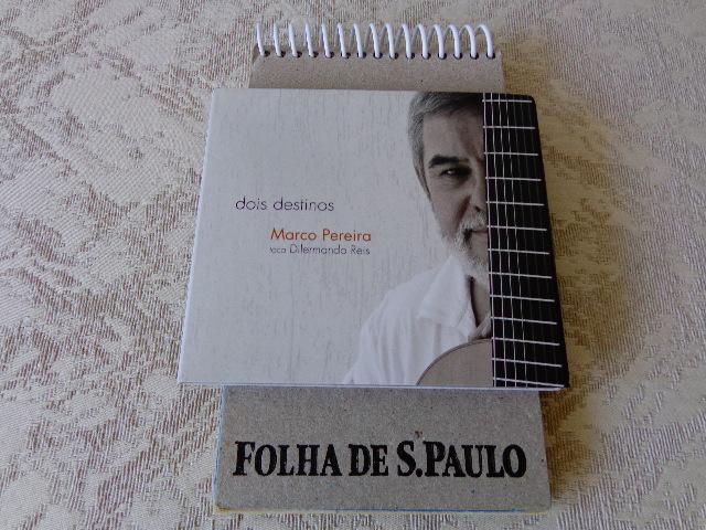 """Capa do disco """"Dois Destinos – Marco Pereira toca Dilermando Reis """" (Foto: Carlos Bozzo Junior)"""