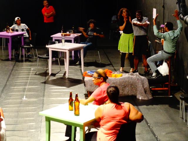 Ensaio do espetáculo musical Cartola- O Mundo é um Moinho (Foto: Carlos Bozzo Junior)