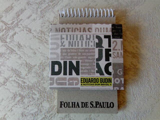 """Capa do CD """"Eduardo Gudin & Notícias dum Brasil 4"""" (Foto: Carlos Bozzo Junior)"""