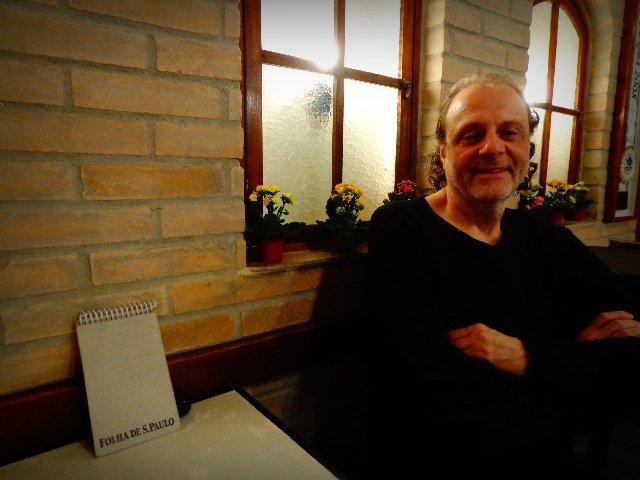Eduardo Gudin em entrevista ao Música em Letras (Foto: Carlos Bozzo Junior)