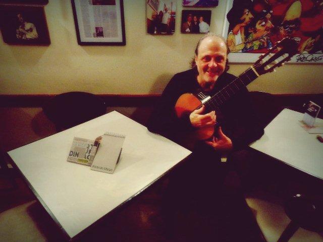O compositor Eduardo Gudin, que teve seu CD indicado para o Grammy Latino (Foto: Carlos Bozzo Junior)