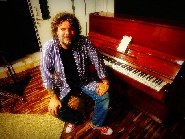 Xando Zupo em entrevista ao Música em Letras (Foto: Carlos Bozzo Junior)