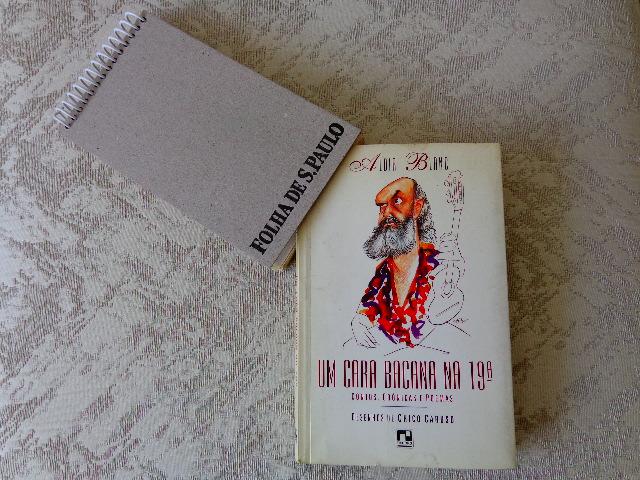 """Capa do livro """"Um Cara Bacana na 19ª"""", de Aldir Blanc (Foto: Carlos Bozzo Junior)"""