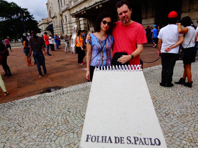 A pianista Liliana Bollos e seu marido, o guitarrista Fernando Corrêa (Foto: Carlos Bozzo Junior)