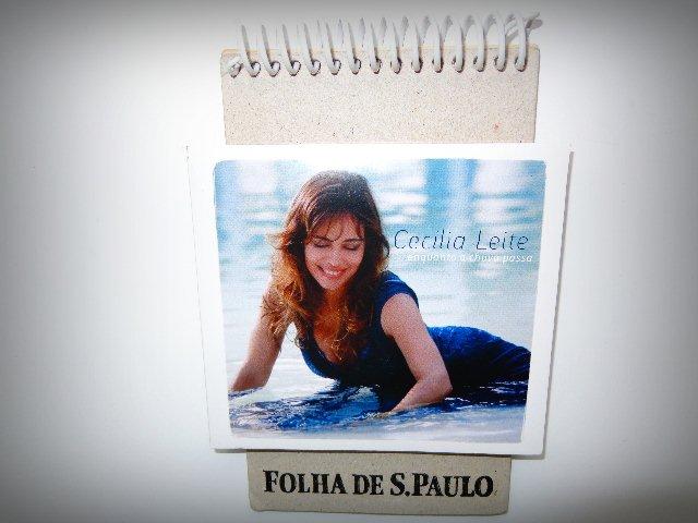 Capa do segundo CD da artista (Foto: Carlos Bozzo Junior)