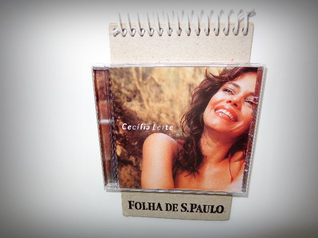 Capa do primeiro CD da artista (Foto: Carlos Bozzo Junior)