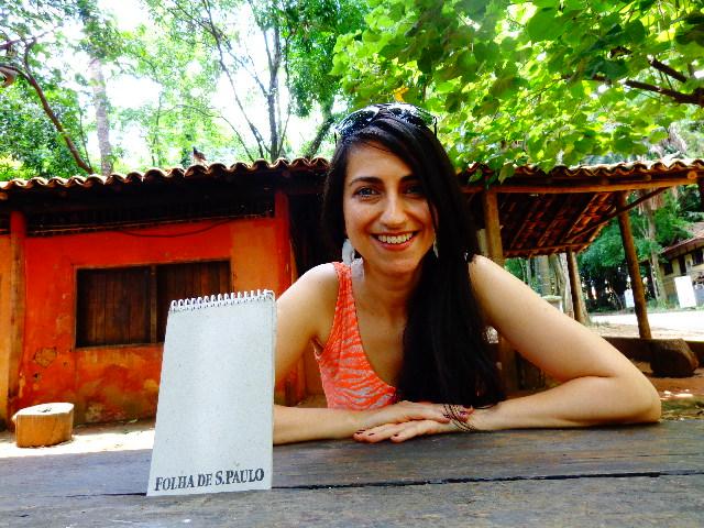Anabel Bian, que canta pop rock, MPB e músicas de sua autoria (Foto: Carlos Bozzo Junior)