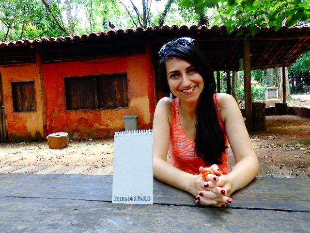 A cantora Anabel Bian que sempre tem músicas de Djavan no  repertório (Foto: Carlos Bozzo Junior)