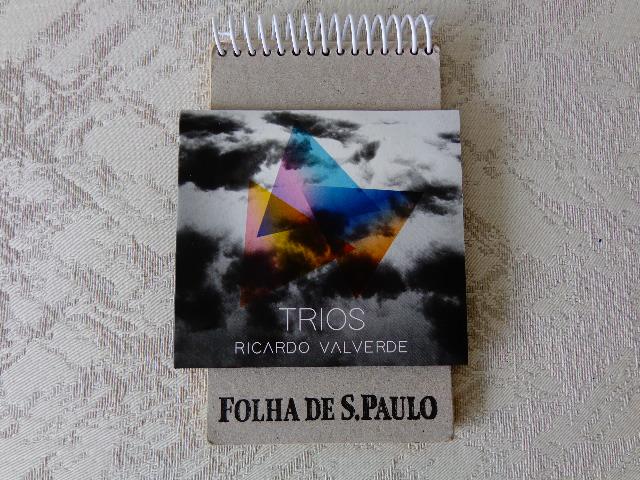 "Capa do CD ""Trios"", de Ricardo Valverde (Foto: Carlos Bozzo Junior)"