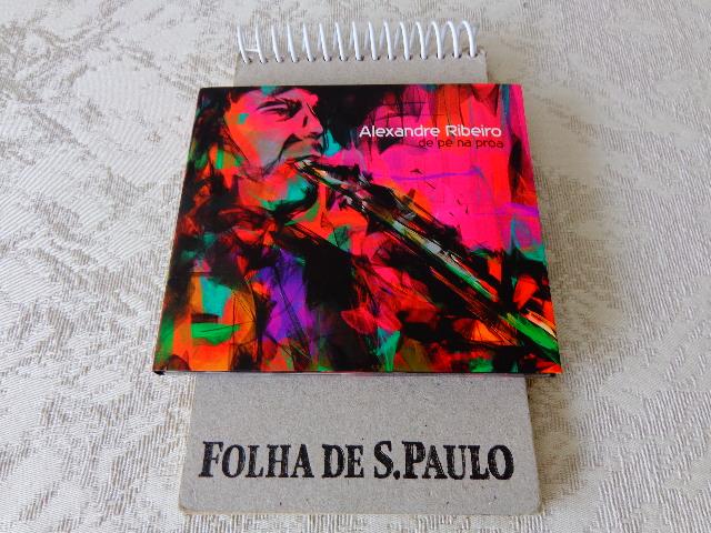 """Capa do CD """"De Pé na Proa"""", de Alê Ribeiro (Foto: Carlos Bozzo JUnior)"""