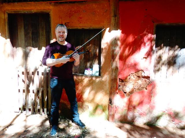 O violinista Nicolas Krassik