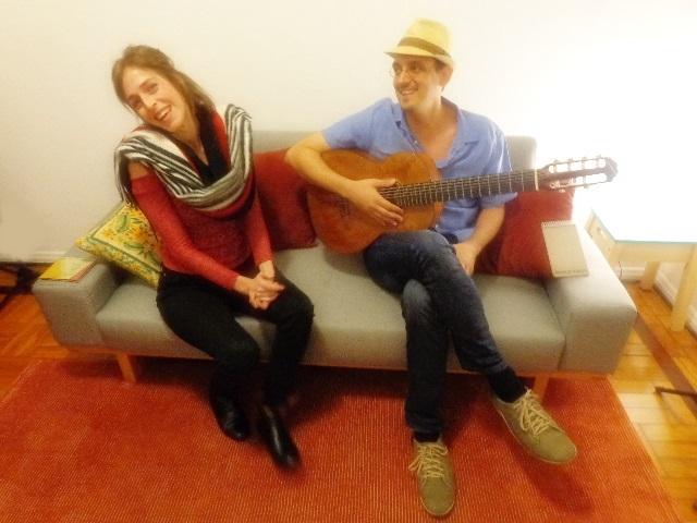 Camila Brasiliano e Felipe Borim