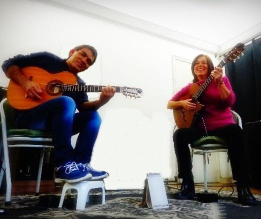 Músicos do Renata Montanari Trio